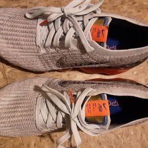 Mens Nike grey vapor max fly knit-3 brand new